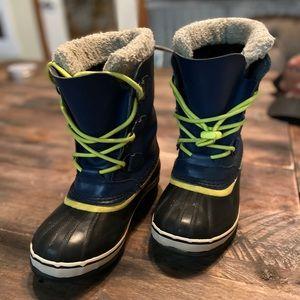 Sorel kids snow boots